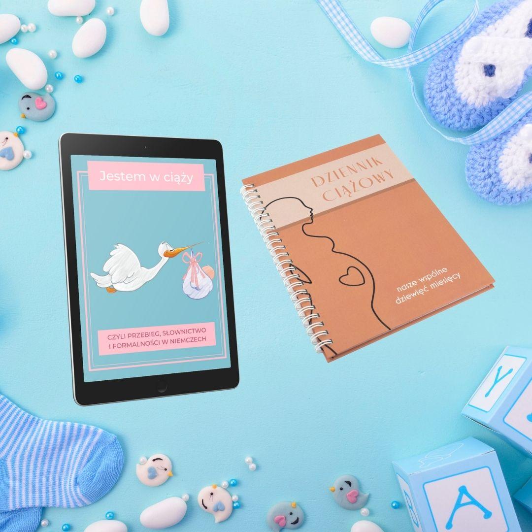"""Pakiet Album ciążowy + E-book """"Jestem w ciąży"""""""