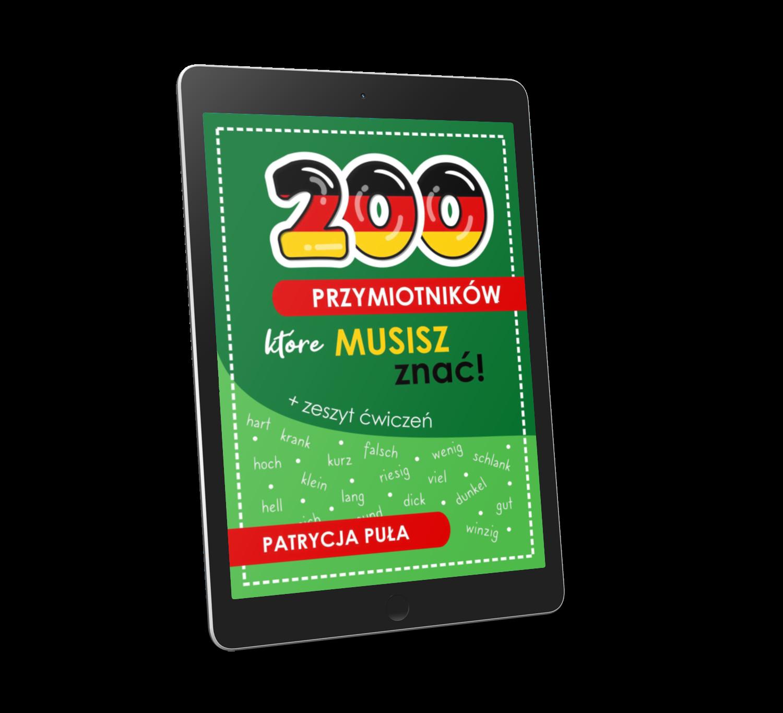 Ebook 200 przymiotników, które musisz znać