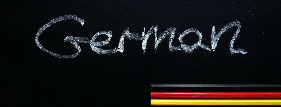 Szyk końcowy w języku niemieckim