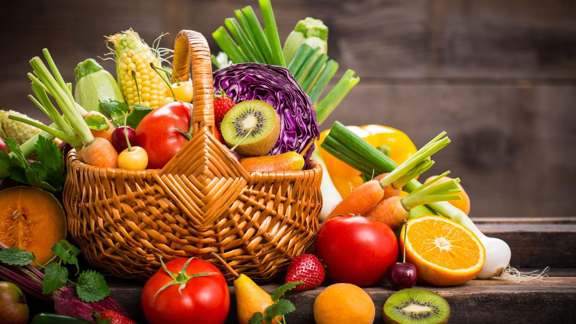Obst und Gemüse - owoce i warzywa po niemiecku
